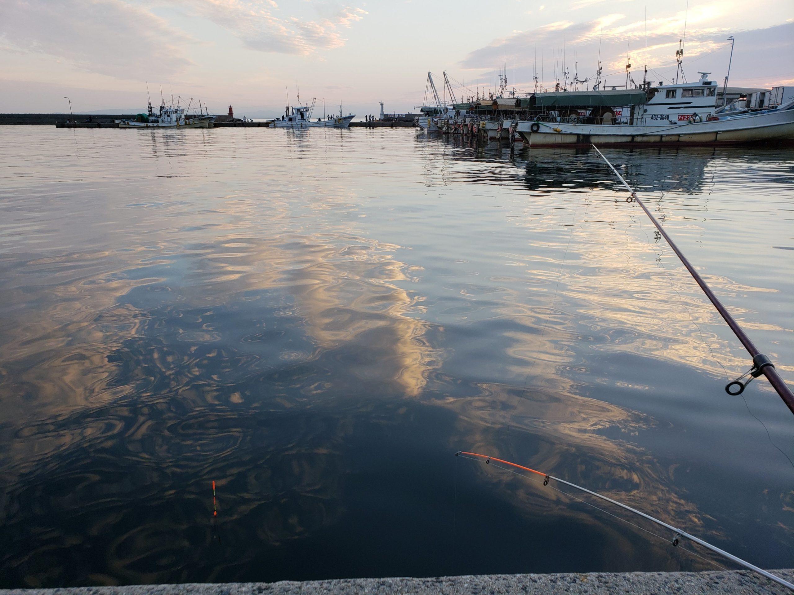 冬の投げ釣りはほとんど釣れない